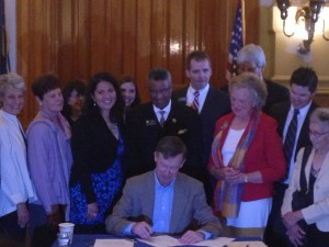 Bill signing for HB14-1072